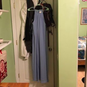 Blue formal dress by Everly size M